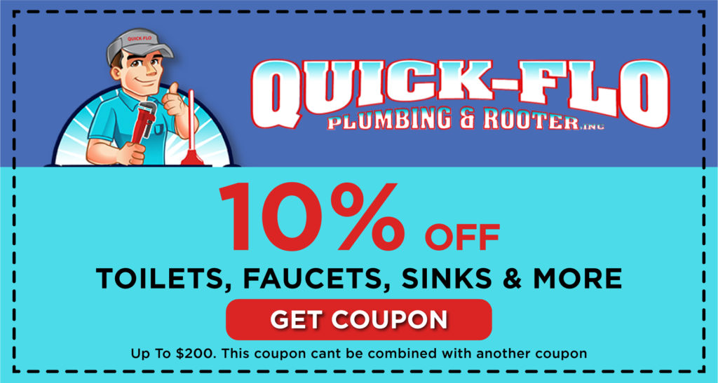 Quick-Flo Toilets, Faucets Coupon